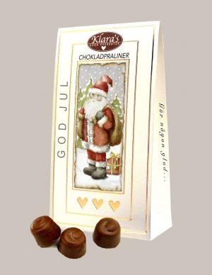 Chokladpraliner jultomte från Klaras Goda Presenter