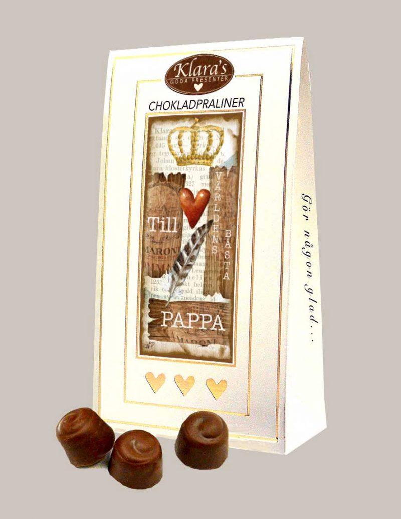 Chokladpraliner till far från Klaras Goda Presenter