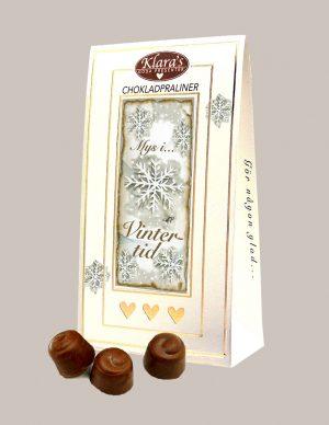 Chokladpraliner för vintern från Klaras Goda Presenter