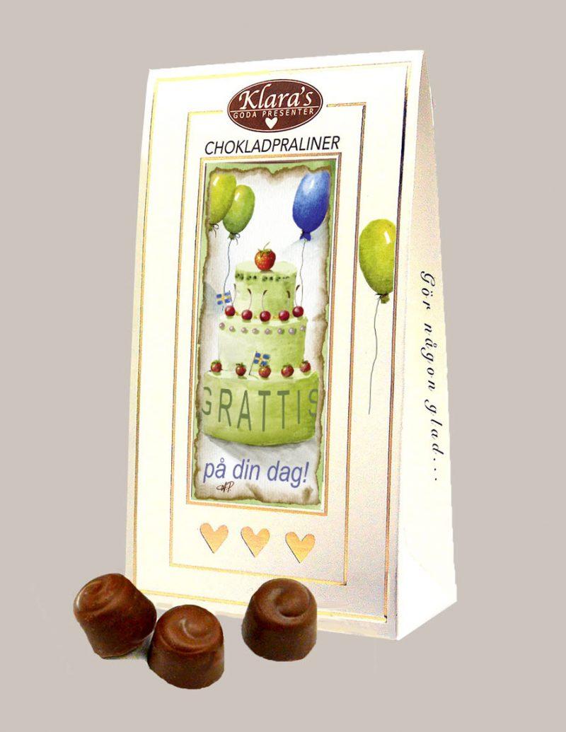 Grattis chokladpraliner från Klaras