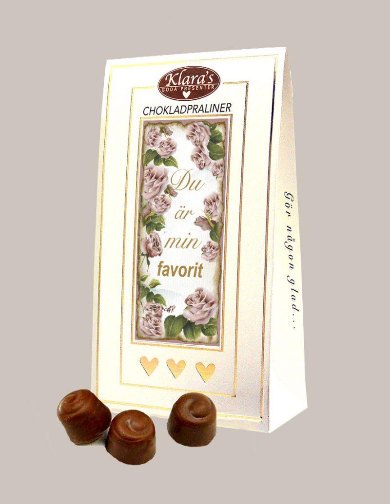 Chokladpraliner till din favorit från Klaras Goda Presenter
