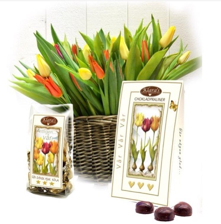 Tulpaner och choklad